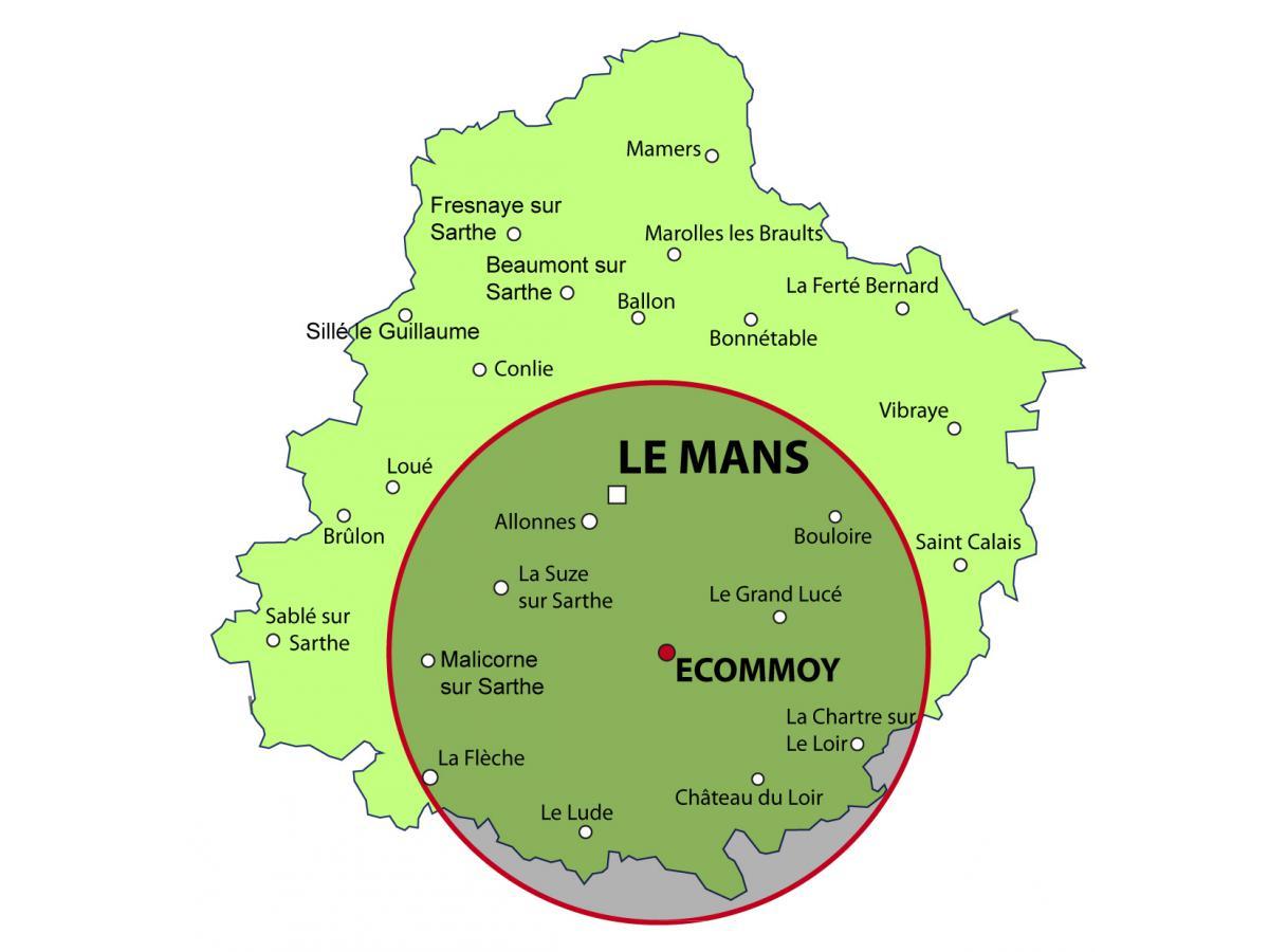Notre secteur géographique