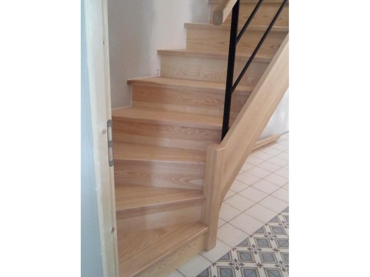 Escalier fabriquer en atelier